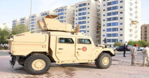 Kuwait Army Troops Were Deployed On Sunday Around Densely Populated District