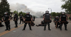 Hundreds of troops deployed as angry U.S. anti-racism protests spread