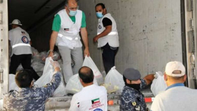 1,000 Food Parcels And 1,000 Milk Cartons Given To Residents Of Farwaniya, Khaitan