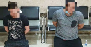 2 Expats Arrested For Trying To Escape From Isolation Area