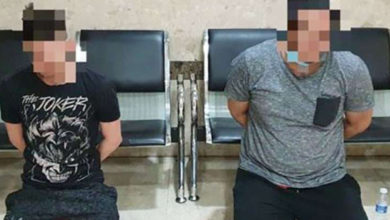 Photo of 2 Expats Arrested For Trying To Escape From Isolation Area