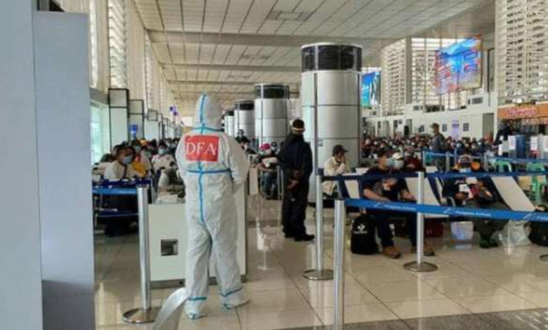 Filipino Government Agreed Double The Repatriation Of Stranded Overseas Filipinos