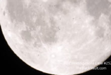 Photo of Fleet of 38 UFOs Passed Very Close to the Moon – Video Recorded in Italy