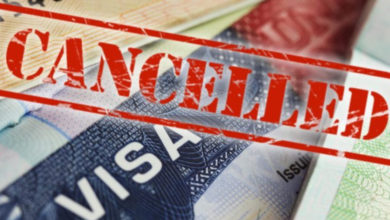 Earlier Issued Visa Cancelled For Those Who Haven't Entered