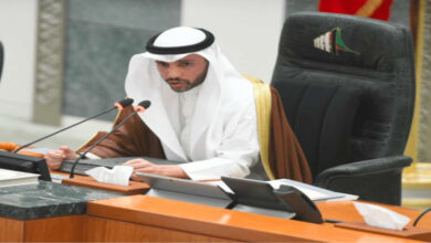 Speaker Al-Ghanim Adjourns Parliament Session Due To The Government's Absence