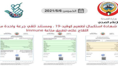 3 Types Of Vaccination Certificates Issued For Those Vaccinated