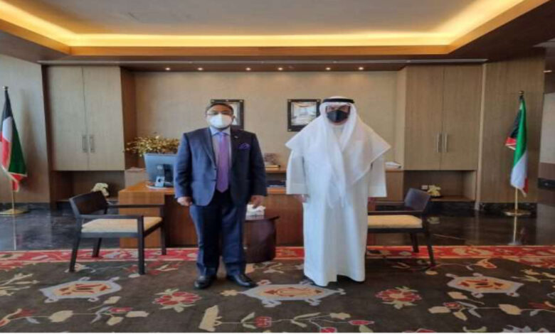 Indian Ambassador Meets With Kuwait Education Minister