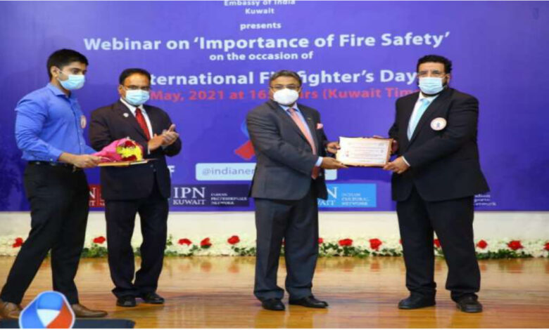 Indian Embassy Holds Webinar On 'Importance Of Fire Safety'