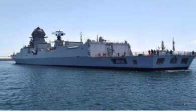 Indian Ship Arrives To Kuwait To Take Medical Supplies
