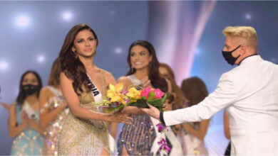 Kuwait Born Miss India Adline Castelino Becomes 3rd Runner Up At 69th Miss Universe
