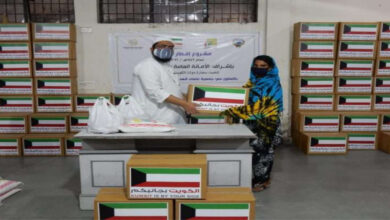 Kuwait Embassy In New Delhi Distributes Ramadan Food Kits