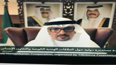Kuwait-India Relations Boosted By Cooperation In Fighting Pandemic