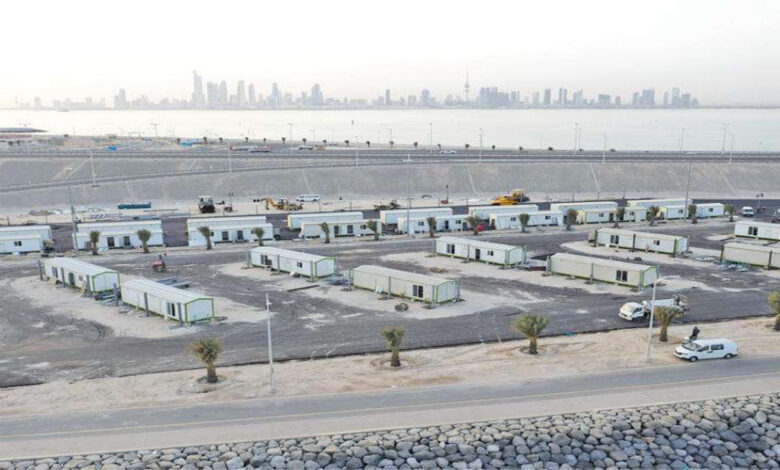 Record Speed In Completing The Vaccination Center At Jaber Bridge