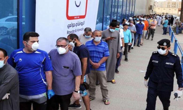 Yesterday Corona Cases In Kuwait - New Cases 1,059 , Total Cases 289,243 ,total Deaths 1,674