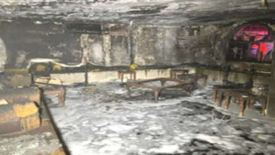 16people, Including 8 Children, Were Rescued From A House Fire In Firdaws
