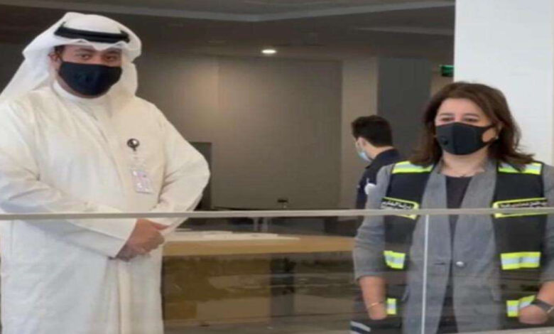 Al-Fares And Al-Ali Inspect The Project Of The New Kuwait Airport Building