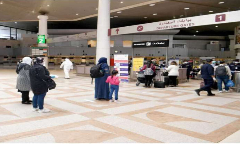 An Increase In Commercial Air Traffic At The Kuwait International Airport