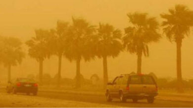 Hot Dusty Weather Today, Weather Expected To Improve From Friday