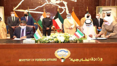 India Kuwait Signs MoU To Make Indian Domestic Workers Under Legal Framework
