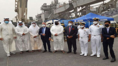 Indian Naval Ship To Carry 8000 Oxygen Cylinders From Kuwait