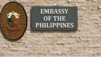 Philippine Embassy Further Delays Resumption Of Consular Services To June 20