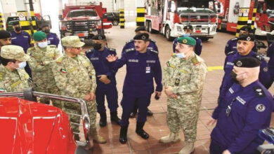 The Fire Department And The Guard Discuss The Achievements Of The Joint Cooperation Protocol